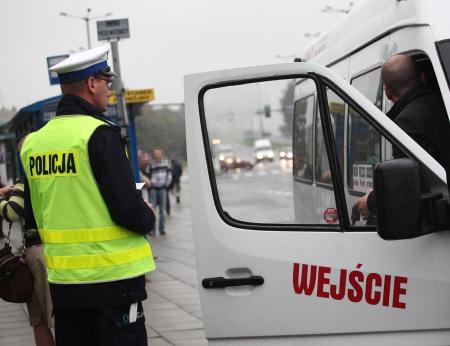 Nietrzeźwy, kierujący busem relacji Skawina - Kraków