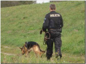 Policja poszukiwania.Fot.Małopolska Policja
