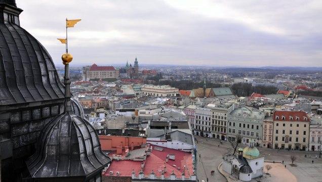 Kraków_widok.Fot.Bogusław Świerzowski / InfoKraków24