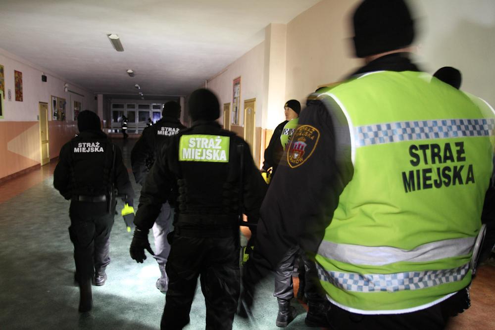 Ewakuacja szkoły - wiele osób poszkodowanych - Na szczęście to tylko ćwiczenia !!! [Video+Zdjęcia]