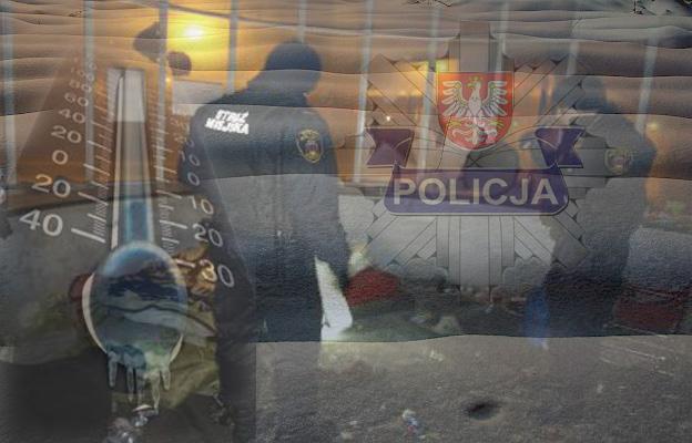 Policja_Straż_Zima