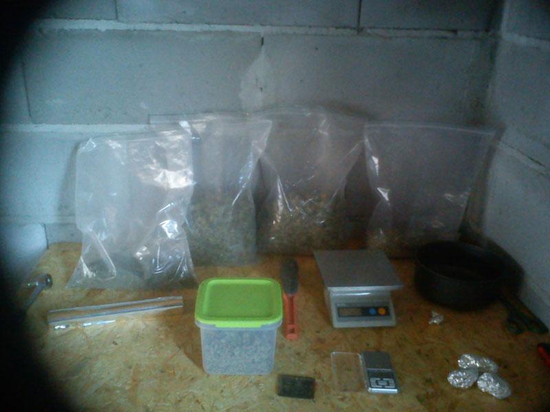Policjanci zatrzymali dealera narkotykowego