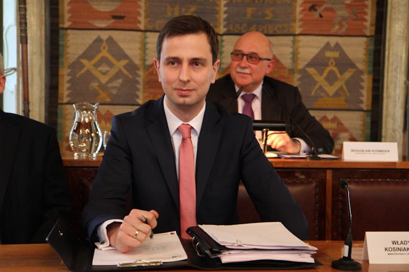 Minister Władysław Kosiniak - Kamysz gościem drugiego spotkania z cyklu