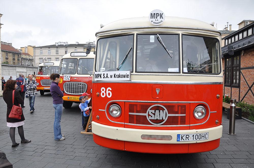 85 lat autobusów miejskich w Krakowie [ zobacz zdjęcia ]