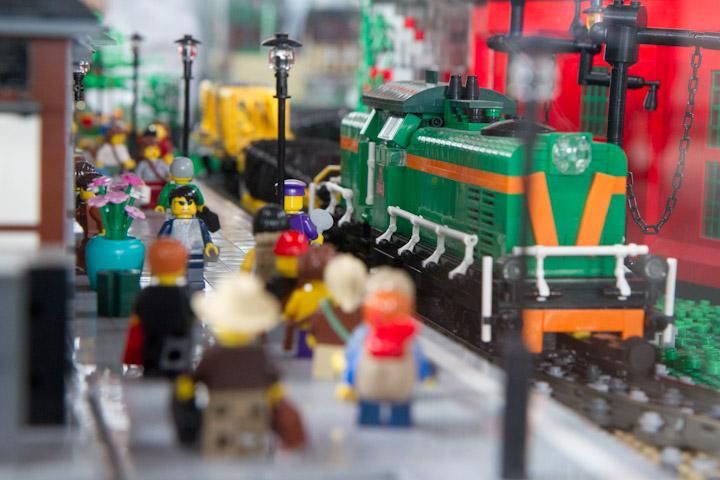 Klocki LEGO opanowały Muzeum Inżynierii Miejskiej [ Galeria zdjęć ]