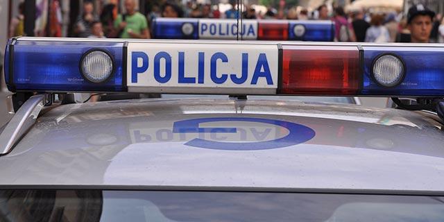 Policja_sygnały. Fot. Bogusław Świerzowski / INFO Kraków24