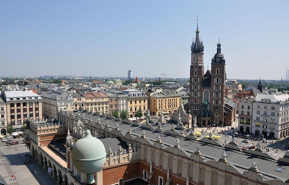 Widok_Kraków. Fot. Bogusław Świerzowski / INFO Kraków24