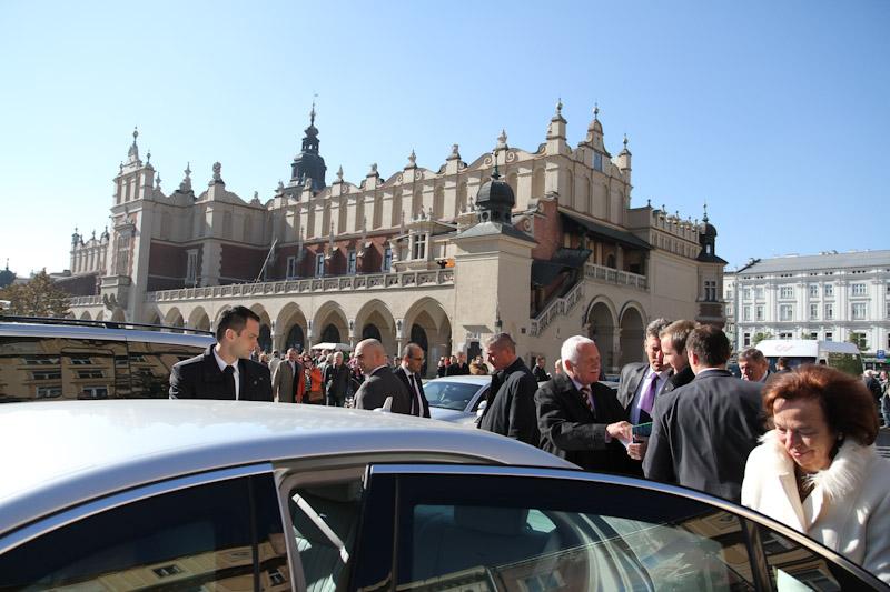 Czeska para prezydencka odwiedziła Kraków [ nowe zdjęcia ]