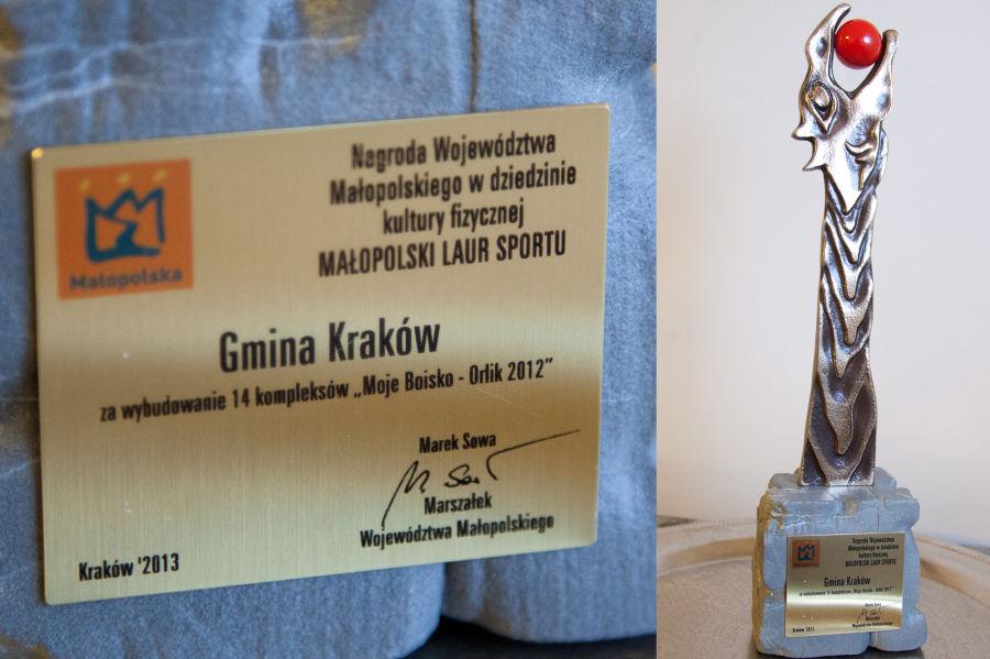 Kraków nagrodzony za Orliki