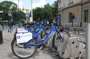 Wypożyczalnia rowerów. Fot. Jan Graczyński / INFO Kraków 24
