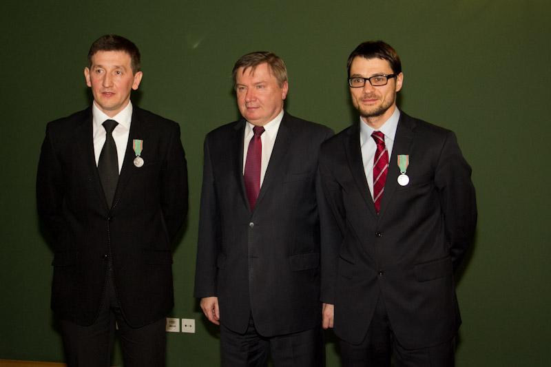 Jakub Ociepa oraz Paweł Szopa zostali odznaczeni Medalami za Ofiarność i Odwagę [zdjęcia]