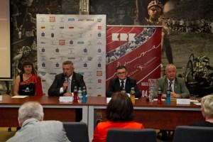 Konferencja poprzedzająca Cracovia Maraton. Fot. Jan Graczyński / INFO Kraków24