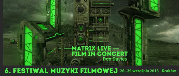 Festiwal Muzyki Filmowej 2013: Znamy już program !