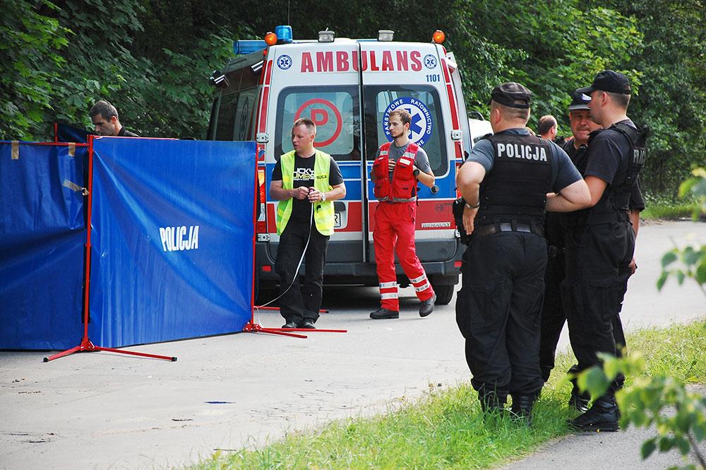 Kraków: Kolejna ofiara porachunków? Nie żyje 23 - latek [ zdjęcia ]