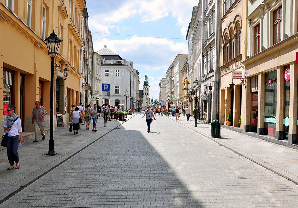 Ulica-Grodzka-po-zmianach. Fot. Bogusław Świerzowski / INFO Kraków24
