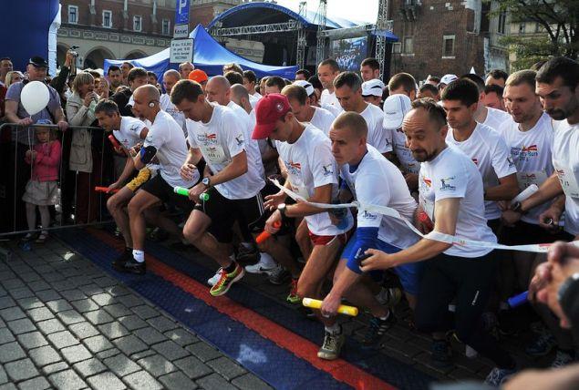 15 września o godzinie 10:30 wystartował Krakow Business Run 2013. Fot. Grzegorz Łyko / INFO Kraków24