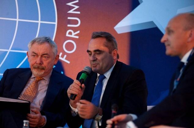 Prezydent Jacek Majchrowski na Forum Ekonomicznym w Krynicy.Fot.Paweł Krawczyk / krakow.pl