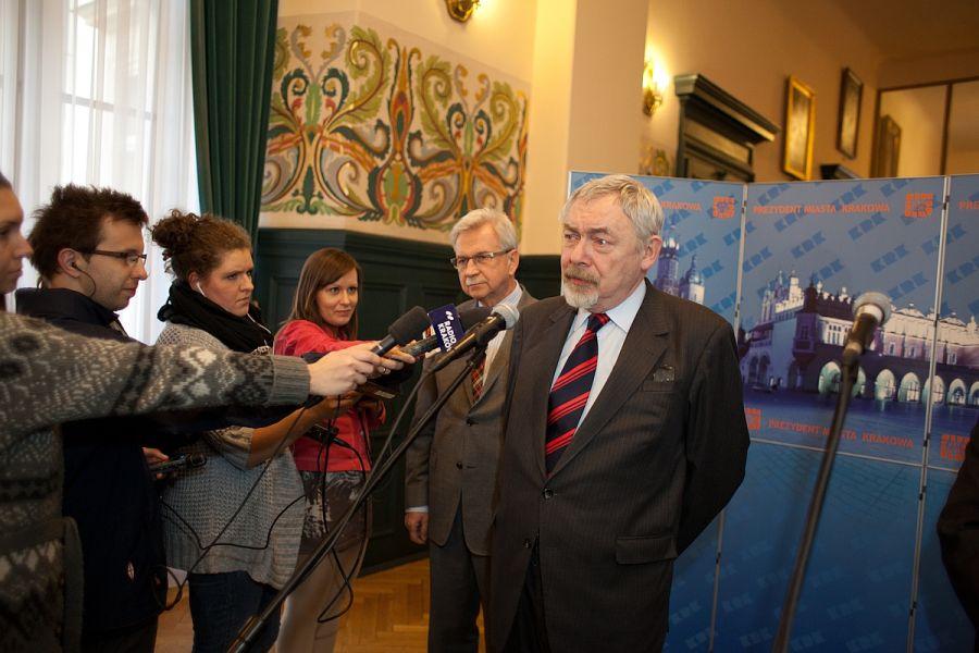 Budżet 2014 konferencja. Fot. Paweł Krawczyk / krakow.pl