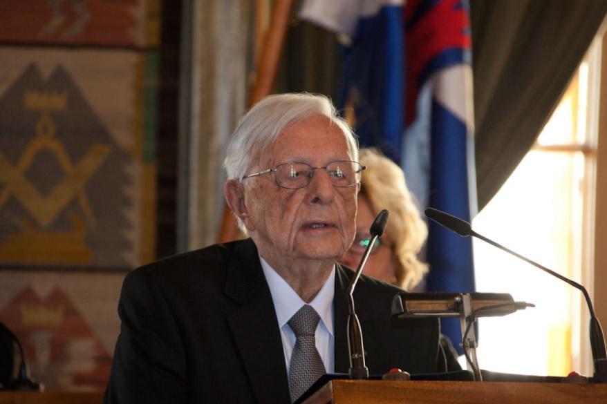 Prof.Stanisław Juchnowicz. Fot. Paweł Krawczyk / krakow.pl