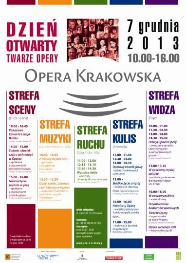 Dzień otwarty w Operze Krakowskiej