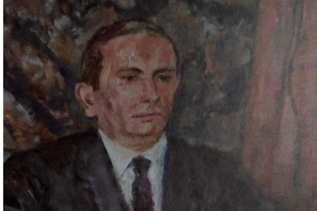 Foto: portet pedzla Czesława Rzepińskiego, 1990r