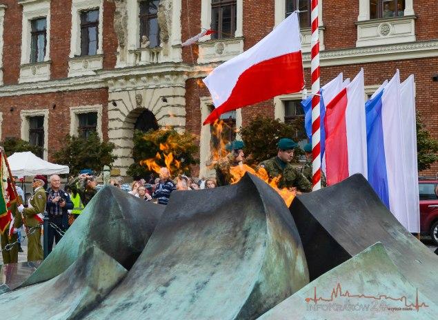 75. rocznica wybuchu II wojny światowej. Fot. Bogusław Świerzowski / INFO Kraków24