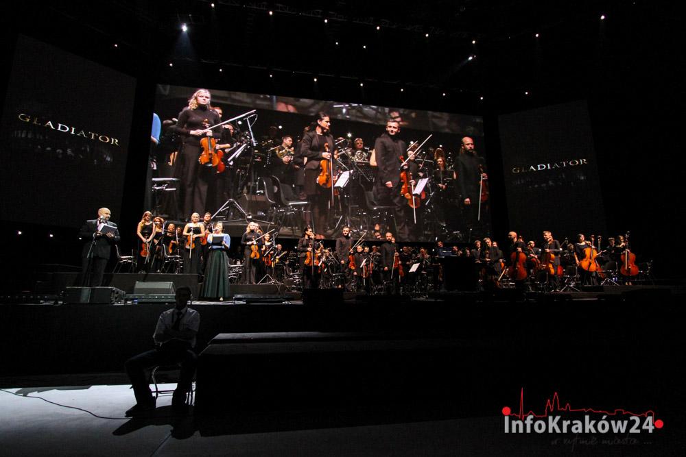 Gladiator Live in Concert Festiwal Muzyki Filmowej w Krakowie. Fot. Jan Graczyński/INFO Kraków24