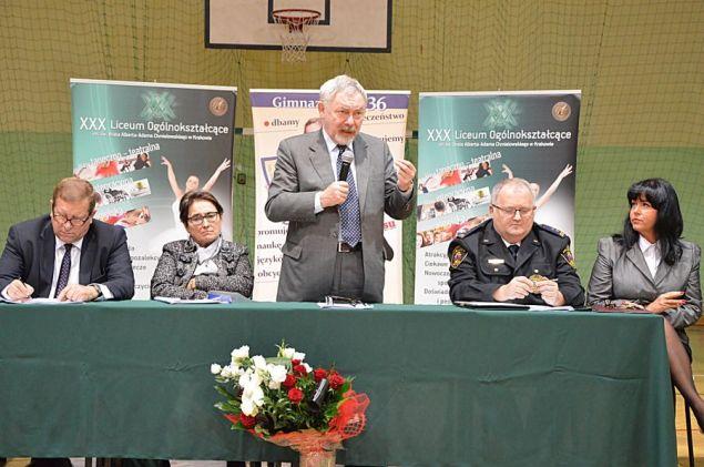 Spotkanie Prezydenta Miasta z mieszkańcami Czyżyn. Foto: ADAM KRAWCZYK