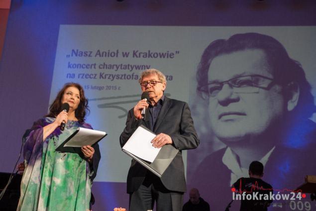 """""""Nasz Anioł w Krakowie"""" koncert charytatywny na rzecz Krzysztofa Globisza. Fot. Jan Graczyński / INFO Kraków24"""