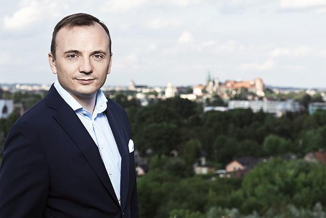 poseł Łukasz Gibała