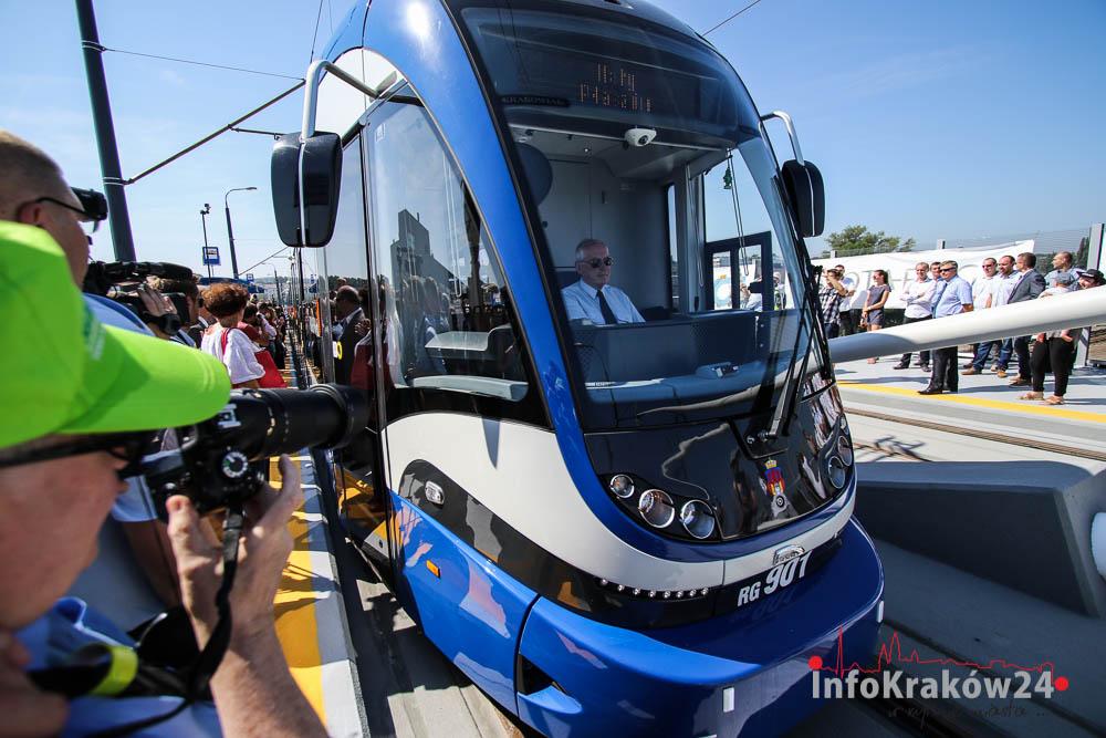 Linia tramwajowa w ramach Trasy Łagiewnickiej z dofinansowaniem UE