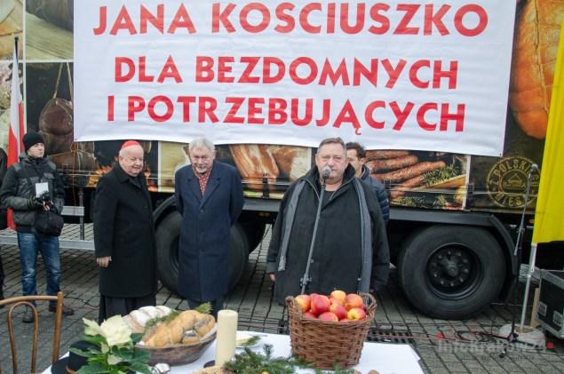 19.Wigilia dla potrzebujących. Fot. Bogusław Świerzowski / INFO Kraków24