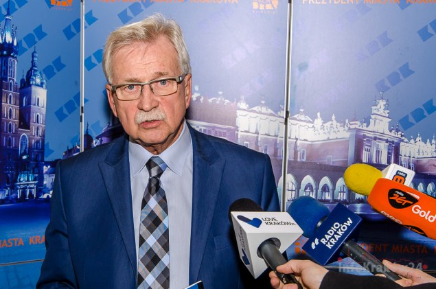 Tadeusz Trzmiel zastępca Prezydenta Miasta Krakowa. Fot. Bogusław Świerzowski/INFO Kraków24