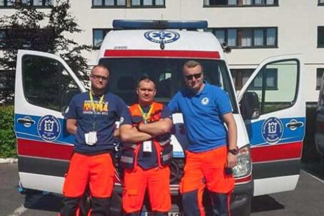 Na zdjęciu od lewej: Tomasz Turcza, Marek Brzostowicz, Mariusz Andrzejczak.