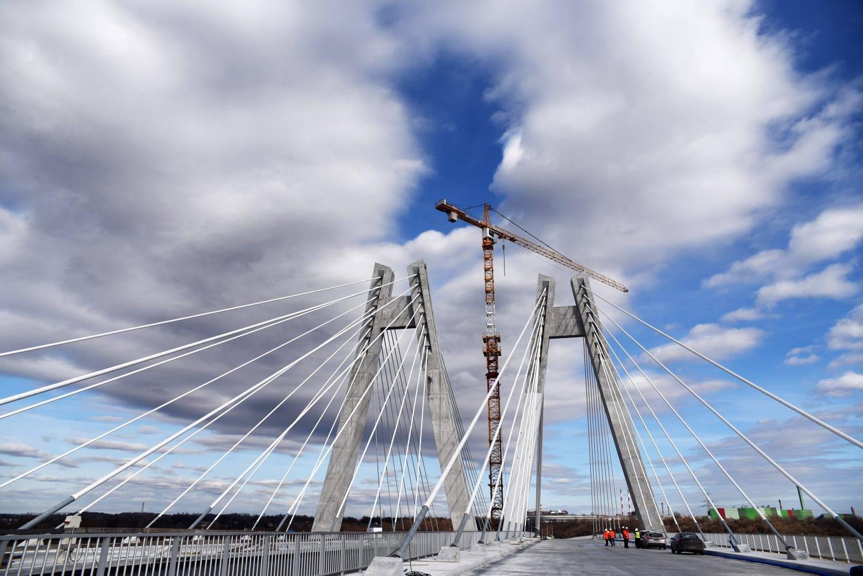 Już w lipcu pojedziemy nowym mostem na Wiśle