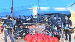 Komunitas N-Max Kubar Gelar Bakti Sosial di Kampung Sembuan