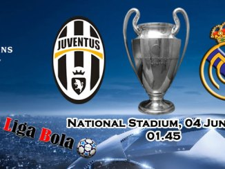 Pasaran Bola Juventus vs Real Madrid 04 Juni 2017