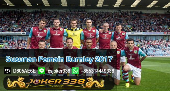 Susunan Pemain Burnley 2017