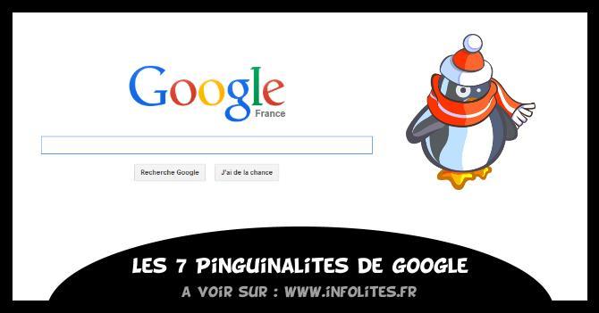 Pinguinalités de Google - Infolites