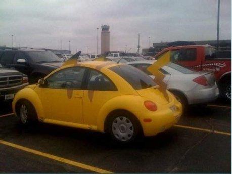 pikachu autofolies