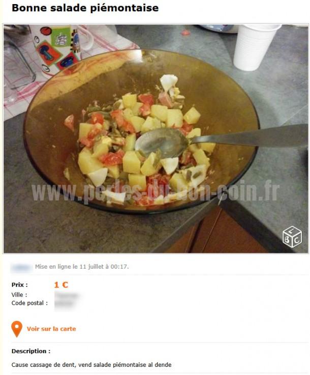salade perles le bon coin