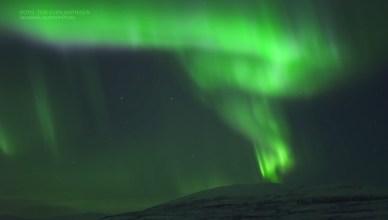 norvège aurore boréale