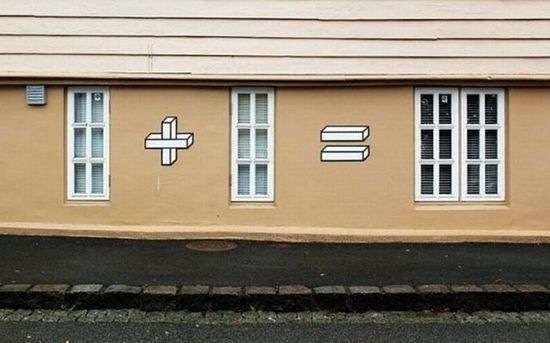 Tetris sur un mur
