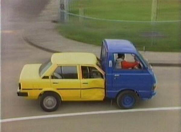 Voiture + camion