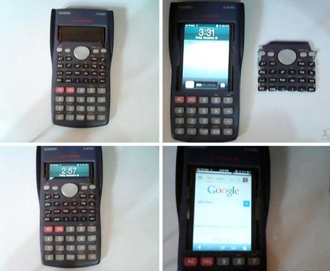 coque iphone camouflage calculatrice
