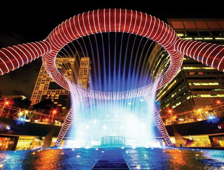 8. Fountain of Wealth, Suntec City, Singapore.