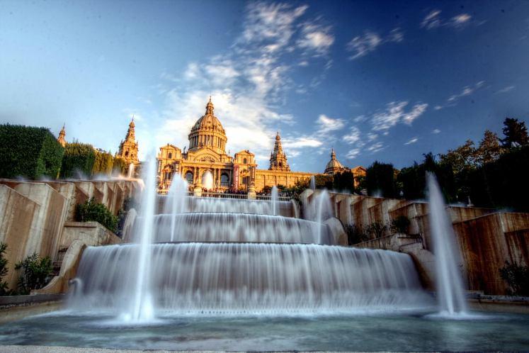 20. Magic Fountain, Barcelona, Spain.