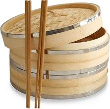 panier vapeur bambou