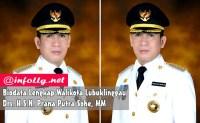 Biodata Lengkap Walikota Lubuklinggau Prana Putra Sohe