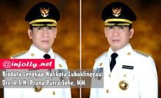 Permalink to Biodata Lengkap Walikota Lubuklinggau : Drs. H.S.N. Prana Putra Sohe, MM